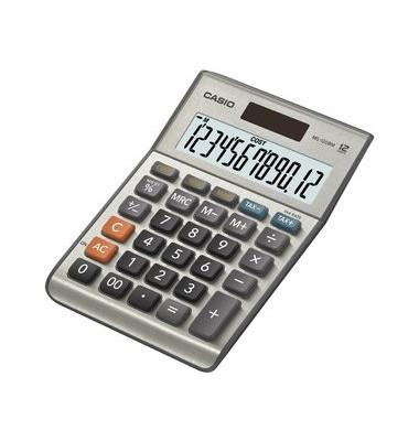 Tischrechner MS-120BM silber 15,8x23,2x4 12-stlg.