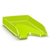 Briefablage Gloss A4 / C4 grün staplebar