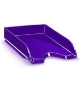 Briefablage Gloss A4 / C4 violett staplebar