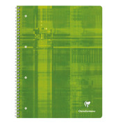 Collegeblock 82510C, A4 blanko, 90g 80 Blatt, 4-fach-Lochung
