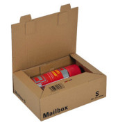 Versandkarton Mailbox S 259x190x85 mm A5+ braun 1 Stück