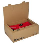 Versandkarton Mailbox L 400x264x144 mm braun 1 Stück