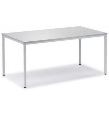 Schreibtisch Line 21724001 lichtgrau rechteckig 140x80 cm (BxT)