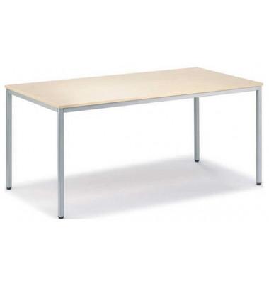 Schreibtisch Line 21726801 ahorn rechteckig 200x80 cm (BxT)