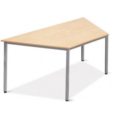 Schreibtisch Line 21726901 ahorn Trapezform 160x80 cm (BxT)