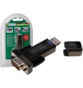 Converter USB2.0a.Serial RS232 schwarz FTDI/FT323RL