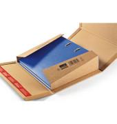 Versandkarton für Ordner 320x290x35-80 mm braun