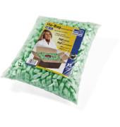 Paket-Füllmaterial Flo-Bag SALF01.01.02 Polystyrolchips grün 15 Liter