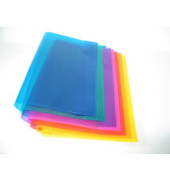 Heftumschlag 2285095 Quart blau PP 150my
