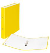 Ringbuch 2 Ringe 20mm gelb A4