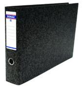 Biella schwarz Ordner A3 quer 80mm breit