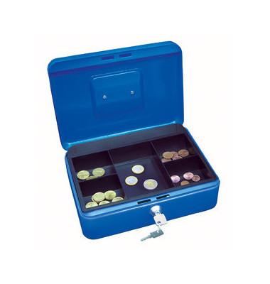 Geldkassette 145 Größe 3 blau 250x180x90mm
