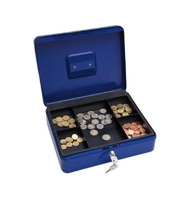 Geldkassette 145 Größe 4 blau 300x240x90mm