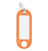 Schlüsselanhänger orange 10er