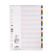 Register 6755 A-Z mit geprägten, farbigen Taben A-Z, EDV Beschriftbares