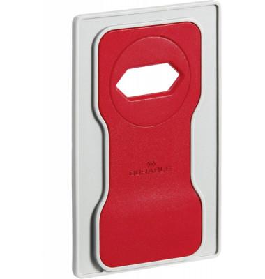 Variocolor Phone Holder, rot. Ladehalterung für Smartphones