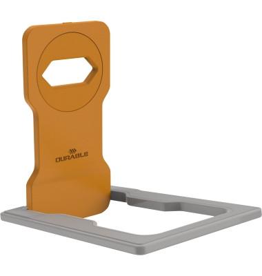 Variocolor Phone Holder, orange. Ladehalterung für Smartphones