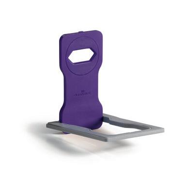 Variocolor Phone Holder, lila. Ladehalterung für Smartphones