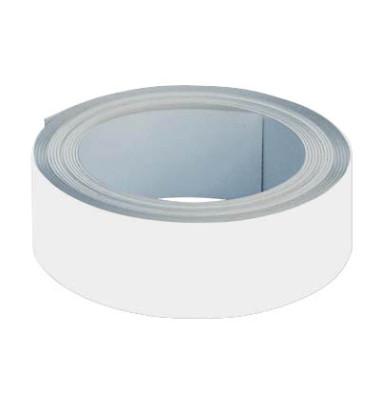 Magnetband 25m x 35mm weiß selbstklebend