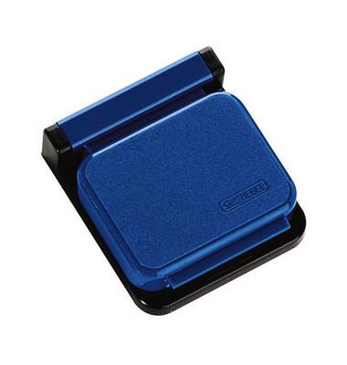 Magnetclip S Planhalter blau 36x40mm 10 St