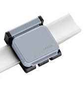 Magnetclip f. Wandpresenter grau 35x40x10mm 10 St