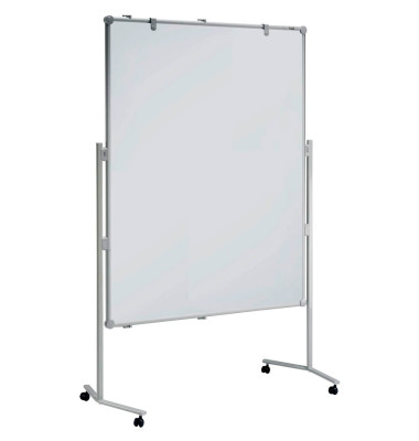 Moderationstafel professionell 150 x 120 cm, whiteboard, Textiltafel