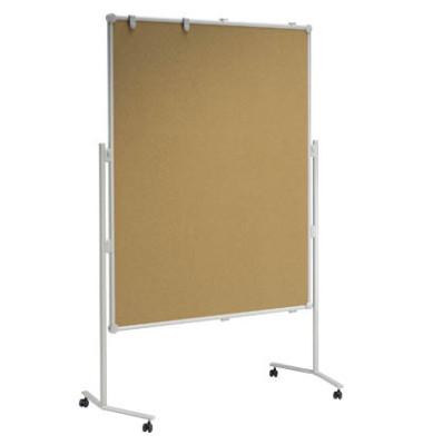 Moderationstafel professional mobil Kork 150 x 120 cm