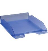 Briefablage Combo 2 A4 / C4 eisblau-transparent staplebar
