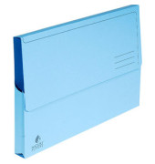 Sammelmappe Nature 47972E, A4 Karton, für ca. 300 Blatt, blau
