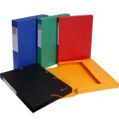 Sammelmappe Scotten 50710E, A4 Karton, für ca. 200 Blatt, farbig sortiert