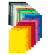 Eckspannmappe 55500E Nature Future A4 400g farbig sortiert