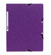 Eckspanner mit Gummi A4 400g violett Colorspan intensiv