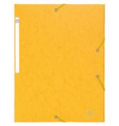 Sammelmappe Scotten 55959E, A4 Karton, für ca. 230 Blatt, gelb