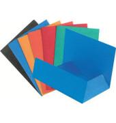 Aktenmappe 3 Klappen A4 sortiert Colorspan 50 St