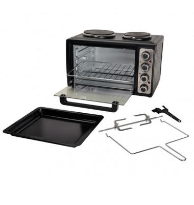 MK 1002 Kleinküche mit 2 Kochplatten und Backofen