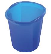 Papierkorb economy 13 Liter blau transluzent