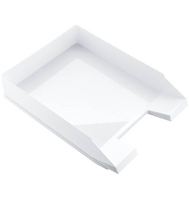 Briefablage Economy H23616  A4 / C4 weiß stapelbar