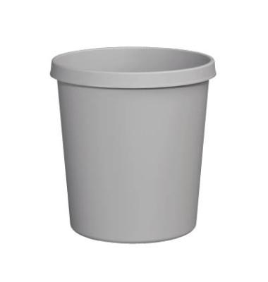 Papierkorb H61058, 18 Liter lichtgrau