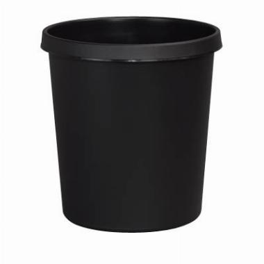 Papierkorb H61058, 18 Liter schwarz