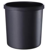 Papierkorb 295 x 310 mm 18 Liter schwarz
