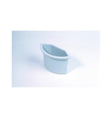 Abfalleinsatz 2 Liter für H61059 + 69059 lichtgrau