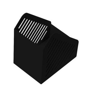 Stehsammler 118 x 168 x 190mm A5 Kunststoff schwarz