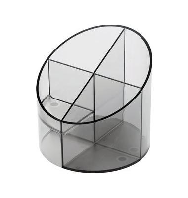 Multiköcher mit 4 Kammern grau 11x11x10,5cm