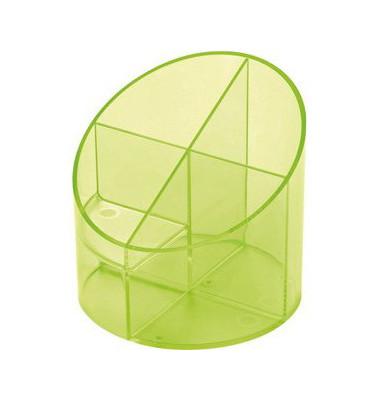 Multiköcher mit 4 Kammern grün 11x11x10,5cm