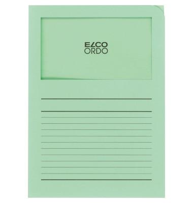 Organisationsmappe Ordo classico, grün, m. Sichtfenster 180 x 100 mm