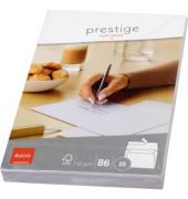 Briefumschlag weiss, B6, 120 g, FSC-Papier, Haftklebung, ohne Fenster, 25 Stk