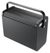 Hängemappenbox H61101 schwarz bis 25 Mappen leer stapelbar