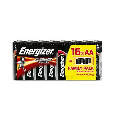 Batterie Alkaline Power Mignon / LR06 / AA 16 Stück
