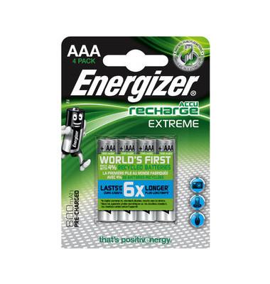 Akku Extreme Micro / HR03 / AAA 4 Stück