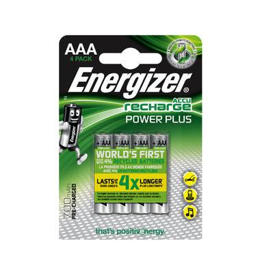 Akku PowerPlus Micro / HR03 / AAA 4 Stück
